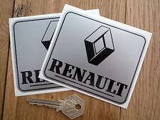 Renault Negro & Plata Race & vehículo deportivo pegatinas