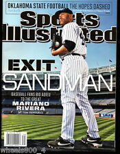 Sports Illustrated 2013 New York Yankees Mariano Rivera Newstand Issue NR/Mint