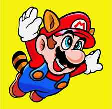 "Super Mario Cartoon Car Bumper Sticker Decal 4"" x 4"""
