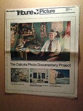 Picture/Photo Documentary of North Dakota, Minneapolis Tribune Jan 23,1977