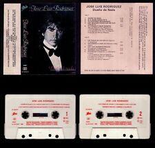 """JOSE LUIS RODRIGUEZ """"EL PUMA"""" - DUEÑO DE NADA - SPAIN CASSETTE EPIC 1982"""