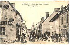CP 02 AISNE - Corbeny - Rue de Craonne (avant-guerre)