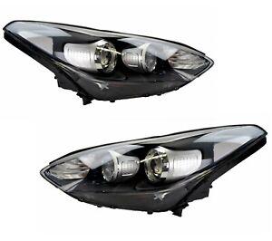 Pair Headlights KIA Sportage QL 10/15-2019 New Front Lamps Halogen 16 17 18 19