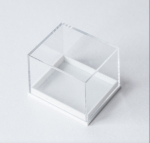 Clear Top Plastic High Dome Shallow Jewellery Fossil Collectables Display Boxes