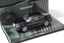 1:43 Minichamps Bentley Continental GT black 2011 NEW bei PREMIUM-MODELCARS