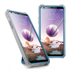"""For LG Stylo 4 /Stylo 4 Plus Case Poetic """"Shockproof"""" TPU Cover-【Revolution】Blue"""