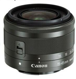 Brand new Canon ef-m 15-45mm lens