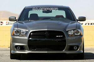 "MOPAR OUTLINED Letters Windshield Banner Decal 3"" x 28"""
