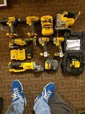 Dewalt power tools, laser level and batteries - Dewalt Tool Set