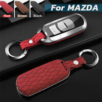 Zinc Alloy Key Cover Fob Case Shell Cap 1pcs Fit For Mazda 3 Axela 2019-2020