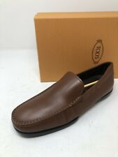 $600 New Tods Mens Brown Shoes Size 10 US 9 UK 43 EU Brown Shoes