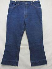 A7167 Roe Bucks USA Made Sears 1960's High Grade Hemmed Jeans Men 39x28