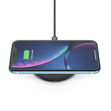 New 10W Belkin BOOSTUP Qi Wireless Charging Pad with Wall Charger