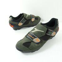 Diadora Chili MTB Mountain Bike Cycling Shoes Clipless SPD 2 Bolt Black Men's 40