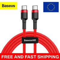 Baseus USB C to USB C Cable Redmi Samsung Oppo Xiaomi Quick Charge USBC to USBC
