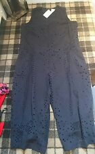 bnwt asos navy cut out playsuit size 16