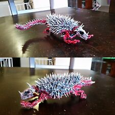 Anguirus skeleton custom. Sh monsterarts Neca 6 inch scale. Godzilla vinyl