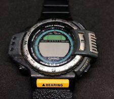 Vintage & Rare Casio ATC-1200 (1170) Watch Japan M Triple Sensor Pathfinder
