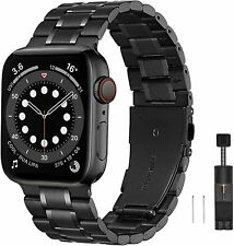Premium Armband für Apple Watch Edelstahl Serie 2 3 4 5 6 SE 38 40 42 44 ✅