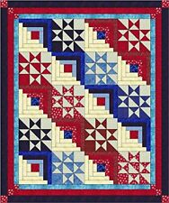 Quilt Kit/Singing the Red, white and Blue/Pre-cut Fabric Ready To Sew/Full