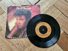 """paul young love of the common people 7"""" vinyl record"""
