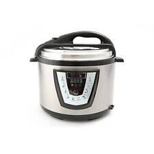 Harvest Cookware Electric Original Pressure Pro 8-Quart Pressure Cooker, Black