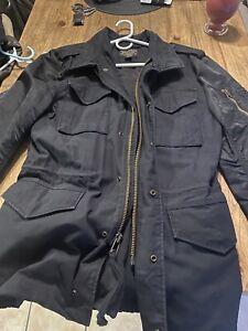 Alpha Industries Mens Fusion M-65 Field Coat Jacket Size M MSRP $225