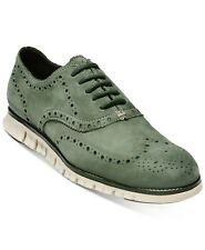 Cole Haan  Zerogrand Wingtip Green Mens Size 8M Oxfords  Shoes