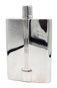 TIFFANY & CO. 2003 ART DECO CENTURY LIQUOR FLASK IN .925 STERLING SILVER PERFECT