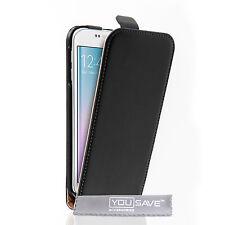 Caseflex Accesorios Samsung Galaxy S6 borde de cuero genuino teléfono funda protectora del Reino Unido