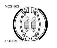 TRW Lucas Bremsbacken mit Federn MCS800 hinten Peugeot SV 80 L