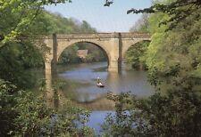 DURHAM - Prebends Bridge - River Wear - Original Postcard (1400)