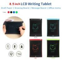 "8.5"" Ultra-thin Writing Tablet LCD Drawing Board Pad Kid EWriter Digital Notepad"