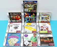 Nintendo DS Jeux Bundle Set Paquet - 10x adultes Jeux (JEWEL MASTER, etc.)