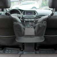 Car Net Pocket Handbag Holder Organizer Seat Side Storage Mesh Bag Universal