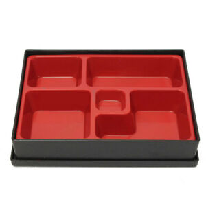 Business Lunch Boxes Bento Office Food Container Japanese-style Wood Grain Box