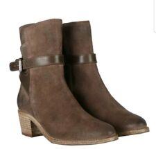 Women's $345 All Saints Brown Leather Jodhpur Ankle Boots Sz 37 (US Sz 7)