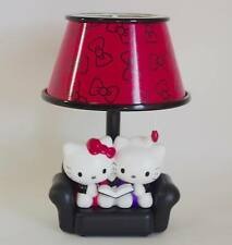 Hello Kitty Ribbon pattern Sofa type Room light Black / Pink Kawaii Sanrio