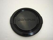 Genuine  OLYMPUS 55mm  lens cap  All black. #01628