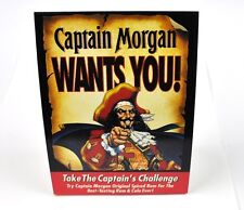 Captain Morgan WANTS YOU! Tischaufsteller aus USA