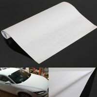 150x30cm White Gloss Self Adhesive Car Vinyl Film Sticker Tint~