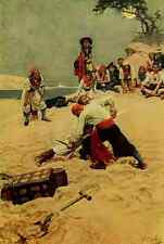 A4 Photo Pyle Howard Book of Pirates 1921 Who shall be captain Print Poster