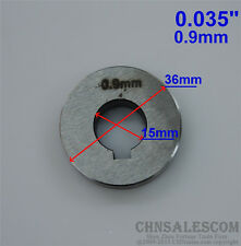 """Wire Feed Double Drive Roller V Groove 0.9mm  0.035""""  Diameter 36mm"""
