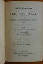 Farm Implements & Farm Machinery, Thomas, 1869, illustrated