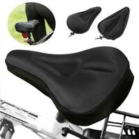 3D Silicone Mountain Gel Saddle Seat Pad Soft Cover Bicycle Padded Cushion US 95