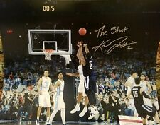 Kris Jenkins Villanova Wildcats Autograph Inscribed 11x14 Photo JSA Witness Auto