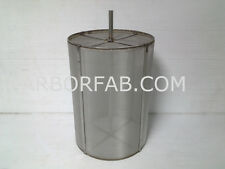 STAINLESS STEEL HOMEBREW BEER HOP FILTER FOR SPEIDEL BRAUMEISTER 10.5X16SBT
