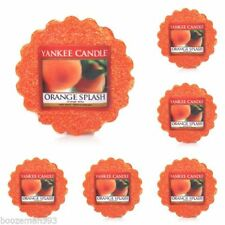 Velas decorativas Yankee Candle aroma naranja para el hogar