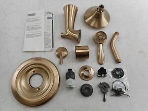 Delta Faucet 17 Series Dual-Function Tub and Shower Trim Kit, Champagne Bronze