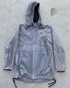 Burton Packable Windbreaker Hooded Thermolite Mountain Jacket Men's Size Medium